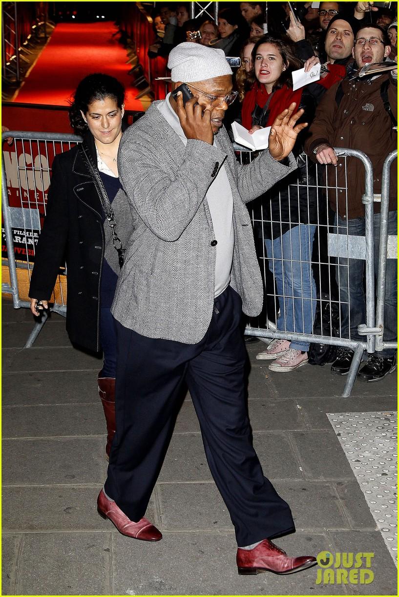 kerry washington jamie foxx django unchained paris premiere 242786429