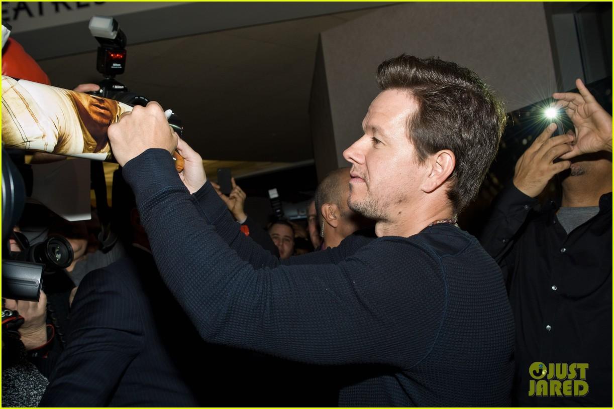 Mark Wahlberg: 'Broken City' Screening! Mark Wahlberg