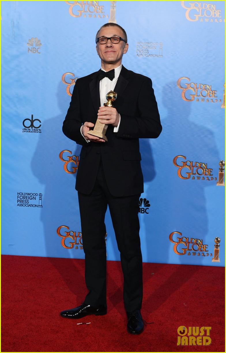 christoph waltz quentin tarantino win golden globes 2013 07