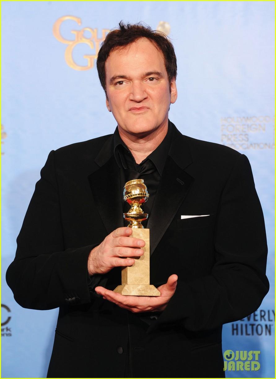 christoph waltz quentin tarantino win golden globes 2013 092791628