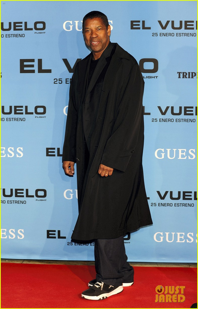denzel washington flight madrid premiere 062797177