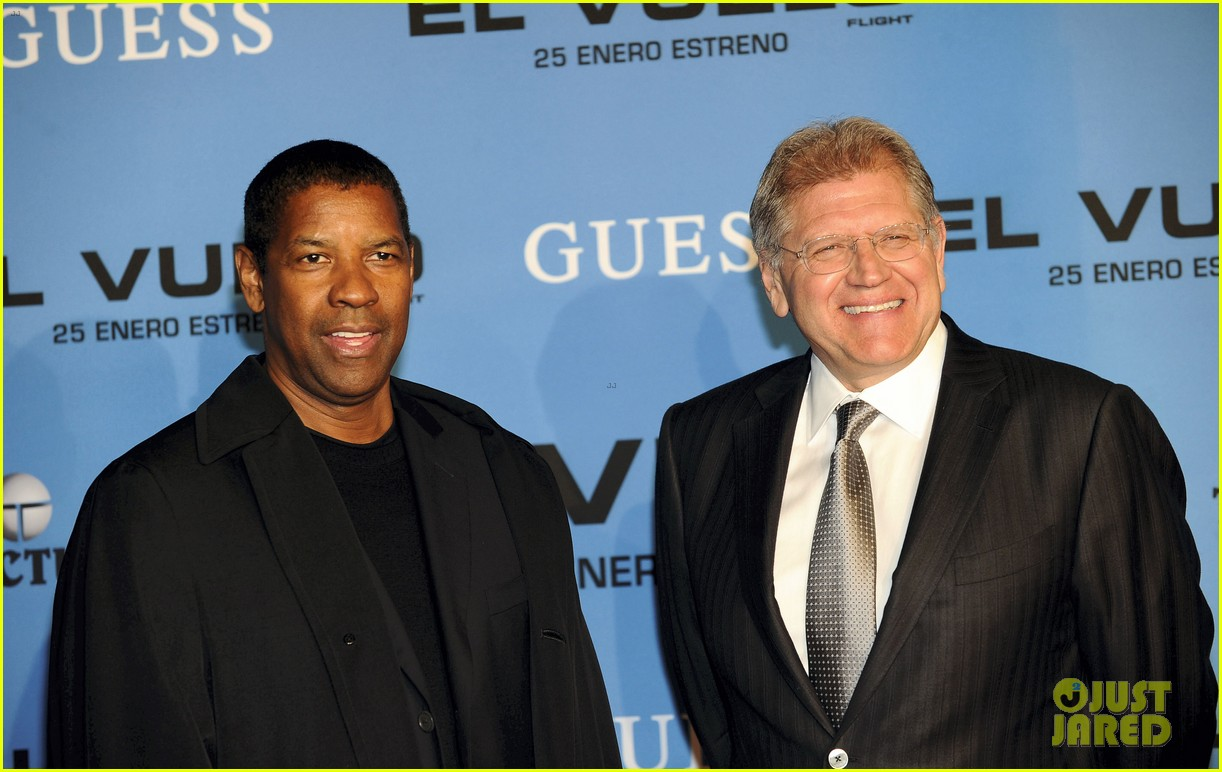 denzel washington flight madrid premiere 07