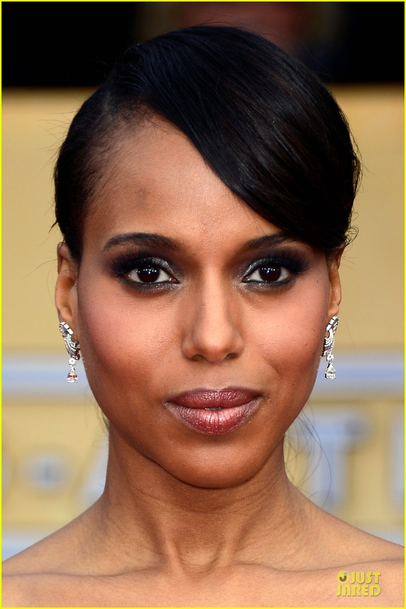 kerry washington sag awards 2013 red carpet 022799694