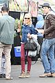 naomi watts liev schreiber farmers market with the kids 09
