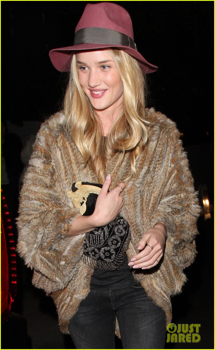 rosie huntington whiteley chateau marmont night out 072794118