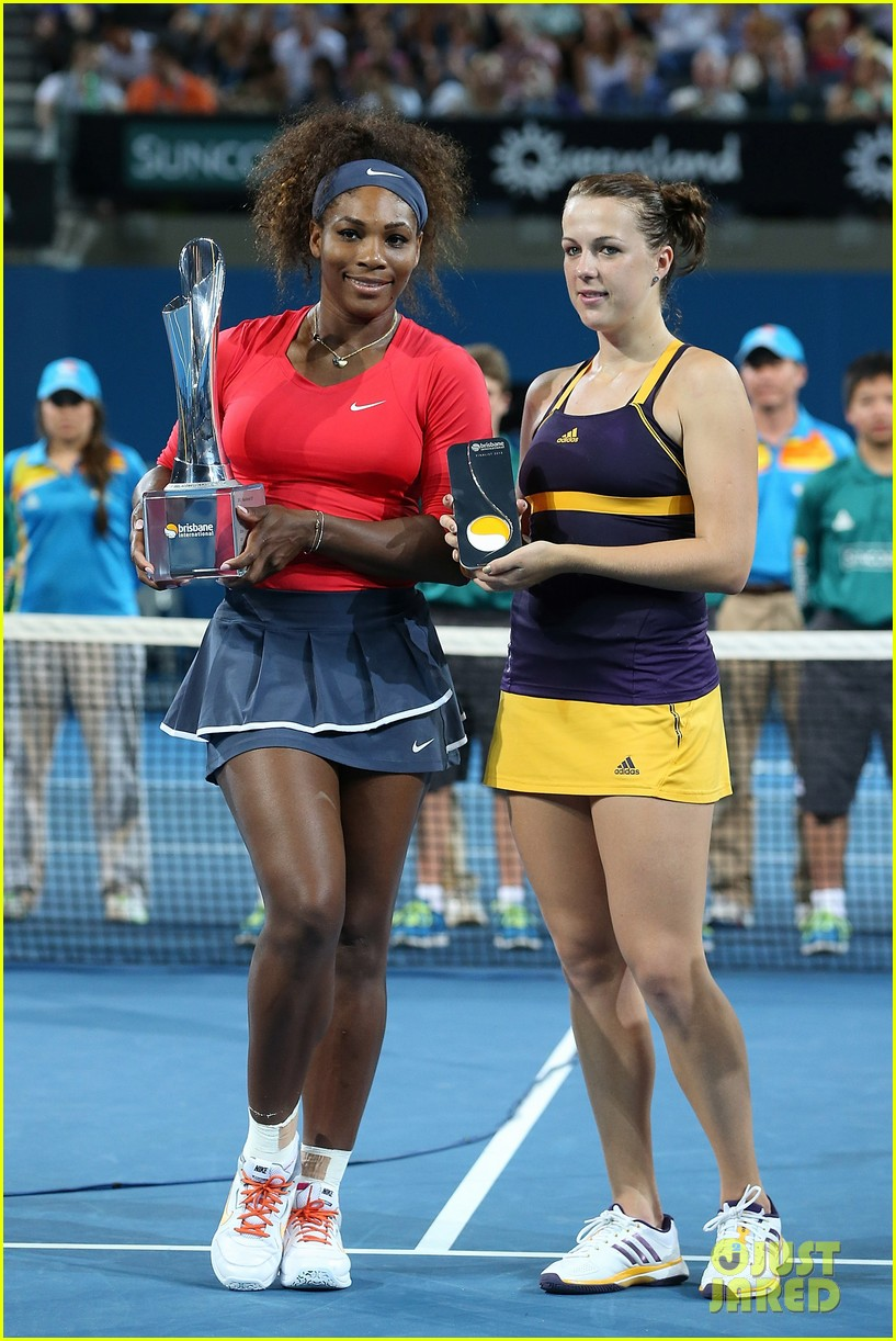 serena williams wins brisbane international tournament 14