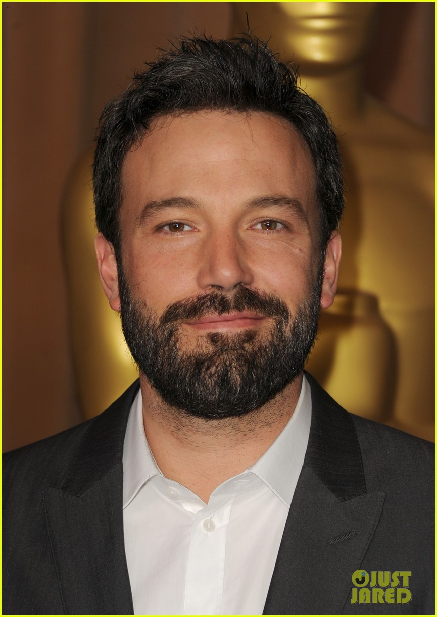 ben affleck oscar nominees luncheon 2013 07