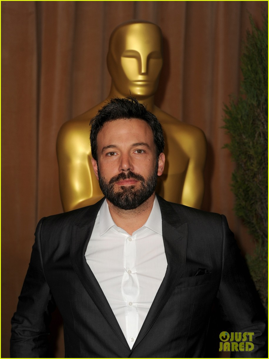 ben affleck oscar nominees luncheon 2013 09