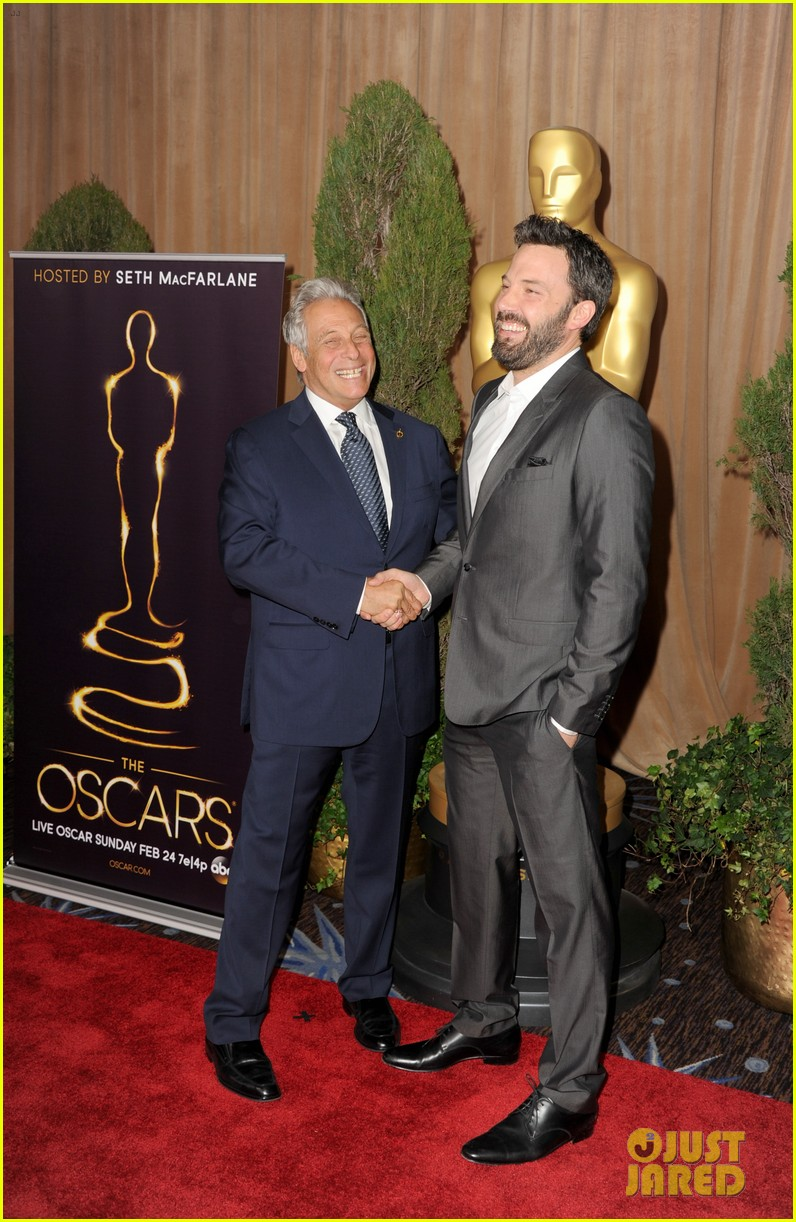 ben affleck oscar nominees luncheon 2013 12