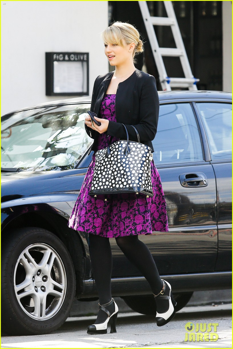 dianna agron i want to see jane lynch broadway debut 06