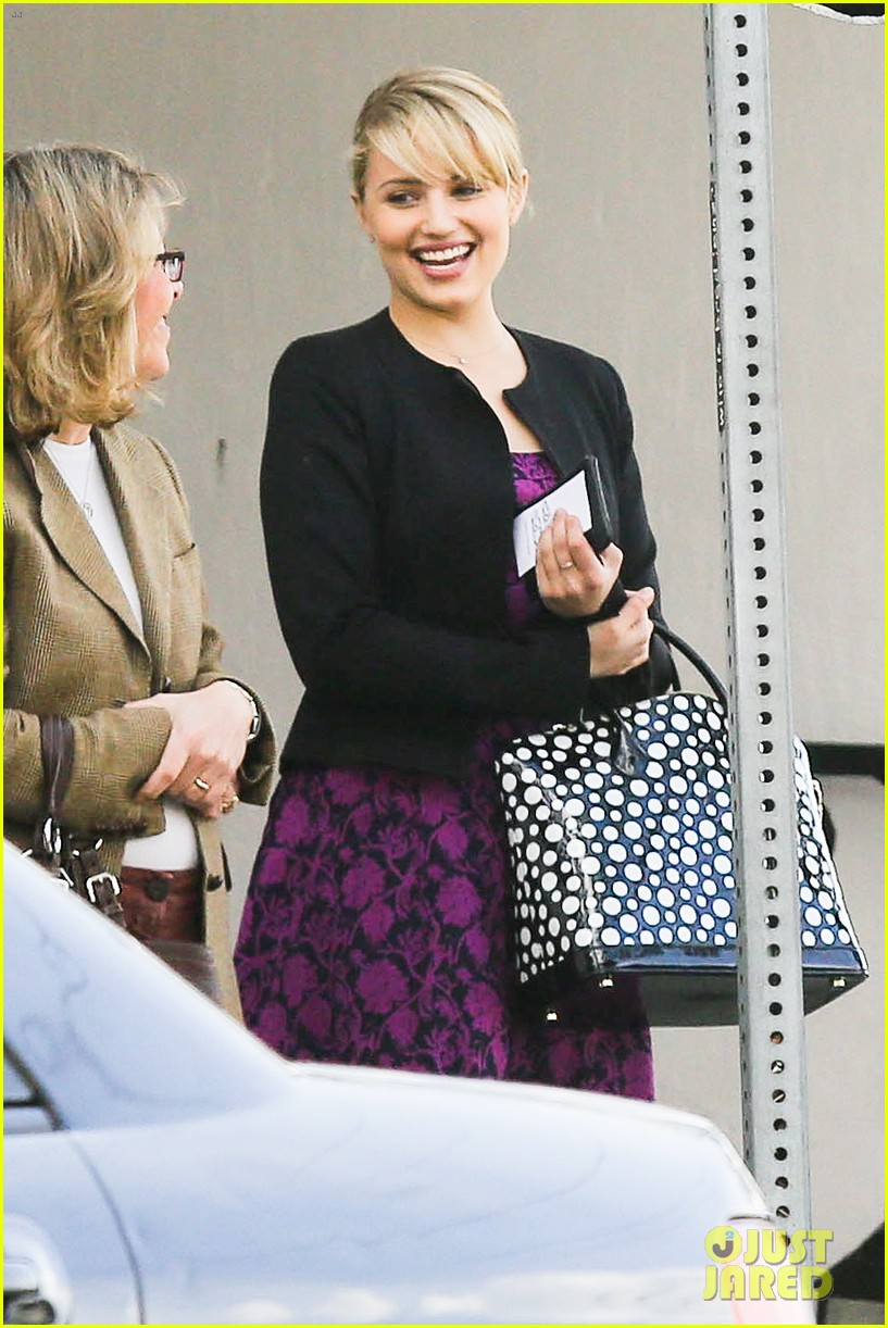 dianna agron i want to see jane lynch broadway debut 09
