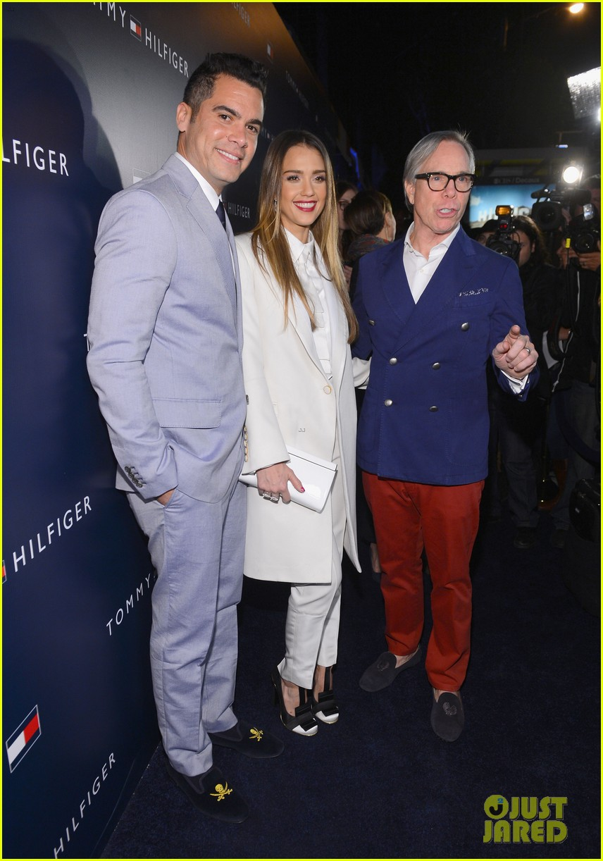 jessica alba drew barrymore tommy hilfiger store opening 19