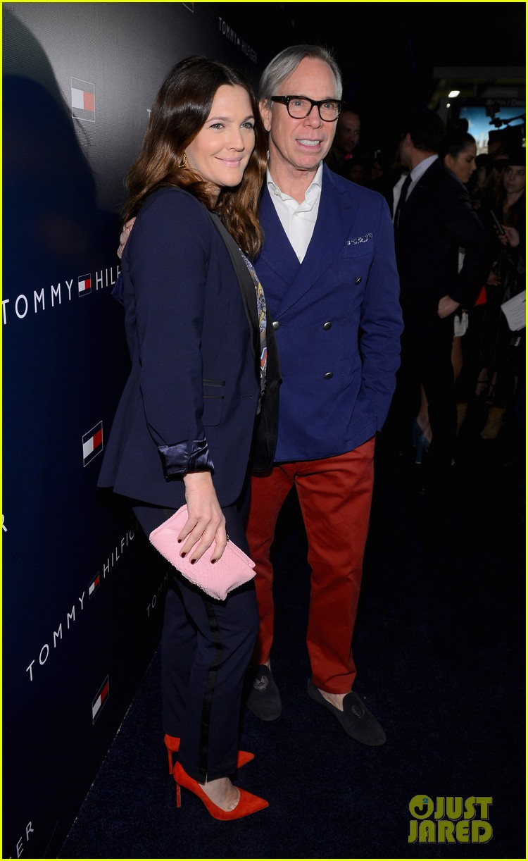 jessica alba drew barrymore tommy hilfiger store opening 20