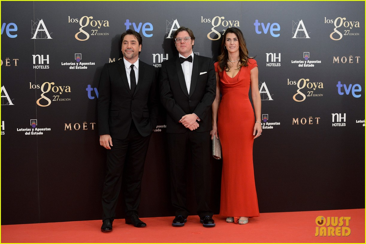 javier bardem goya awards after penelope cruz pregnancy confirmation 012814288