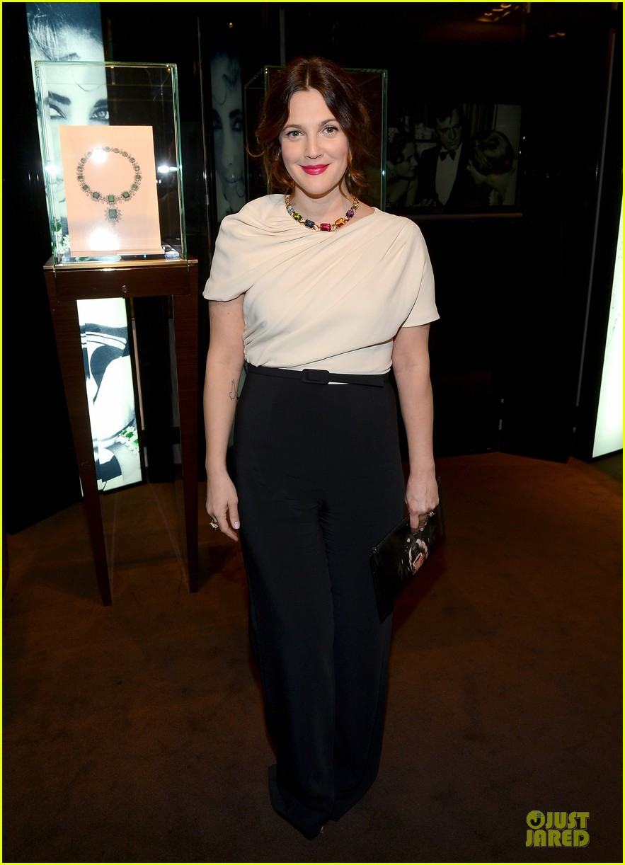 drew barrymore julianne moore elizabeth taylor bvlgari collection event 012815509