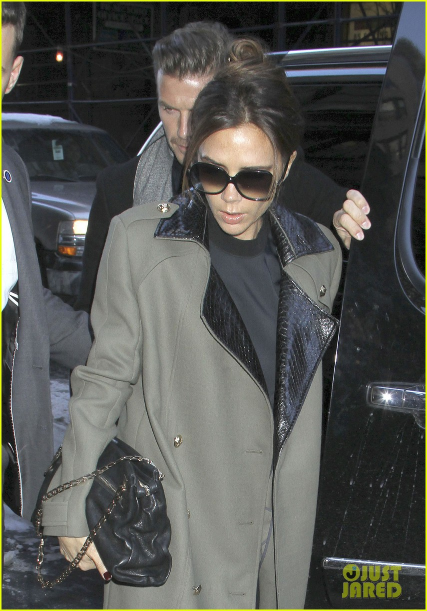 victoria beckham new york fashion week runway show 042809971