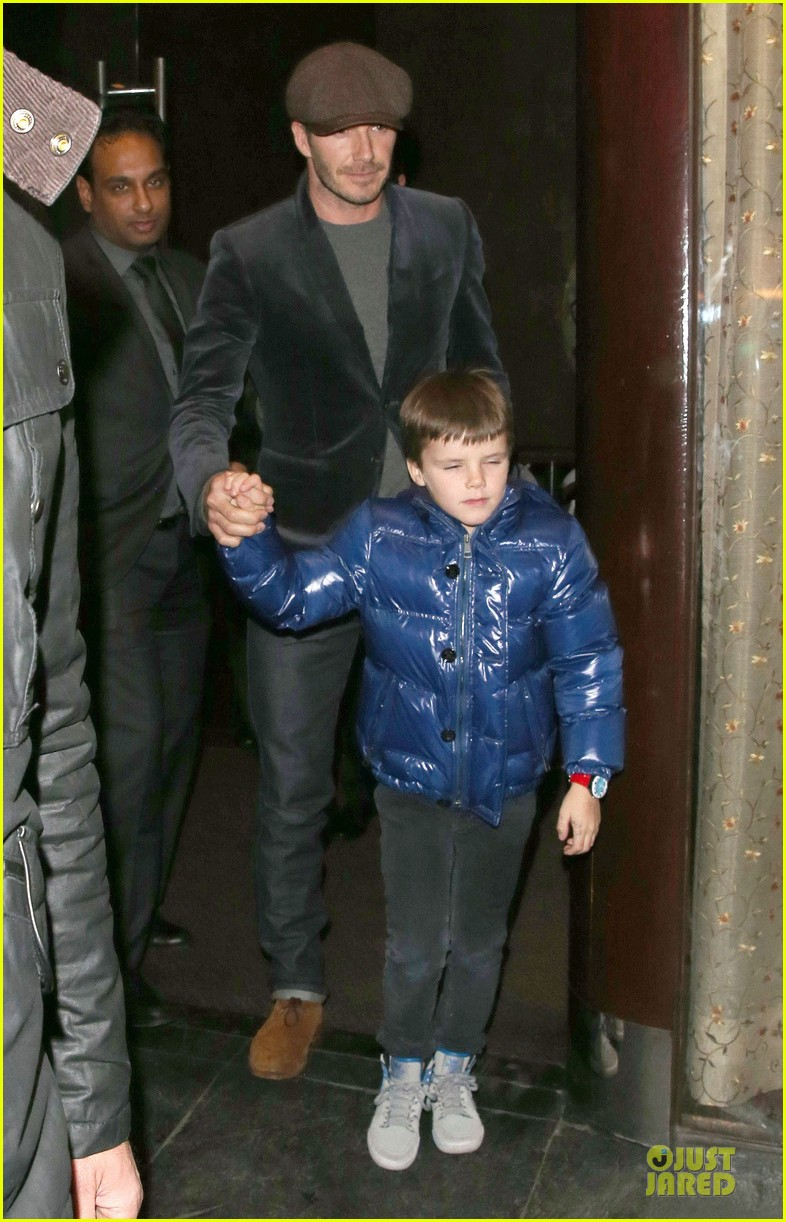 david beckham tamarind restaurant dinner with the boys 18