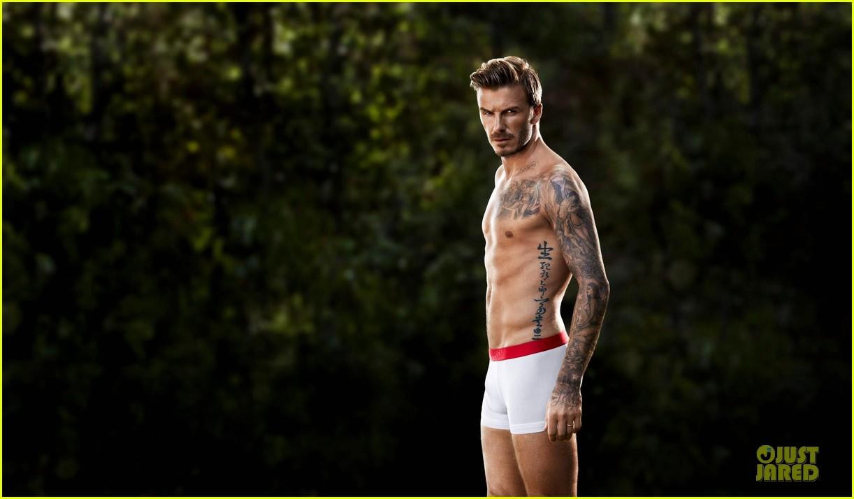 david beckham newly released shirtless underwear clad hm campaign pic 05