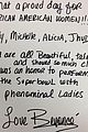 beyonce super bowl note for african american women 01