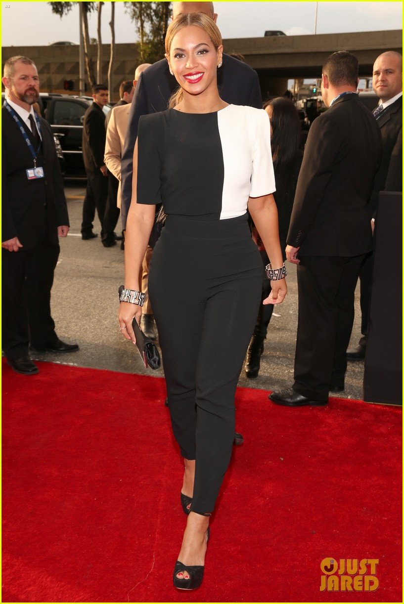beyonce grammys 2013 red carpet 092809300