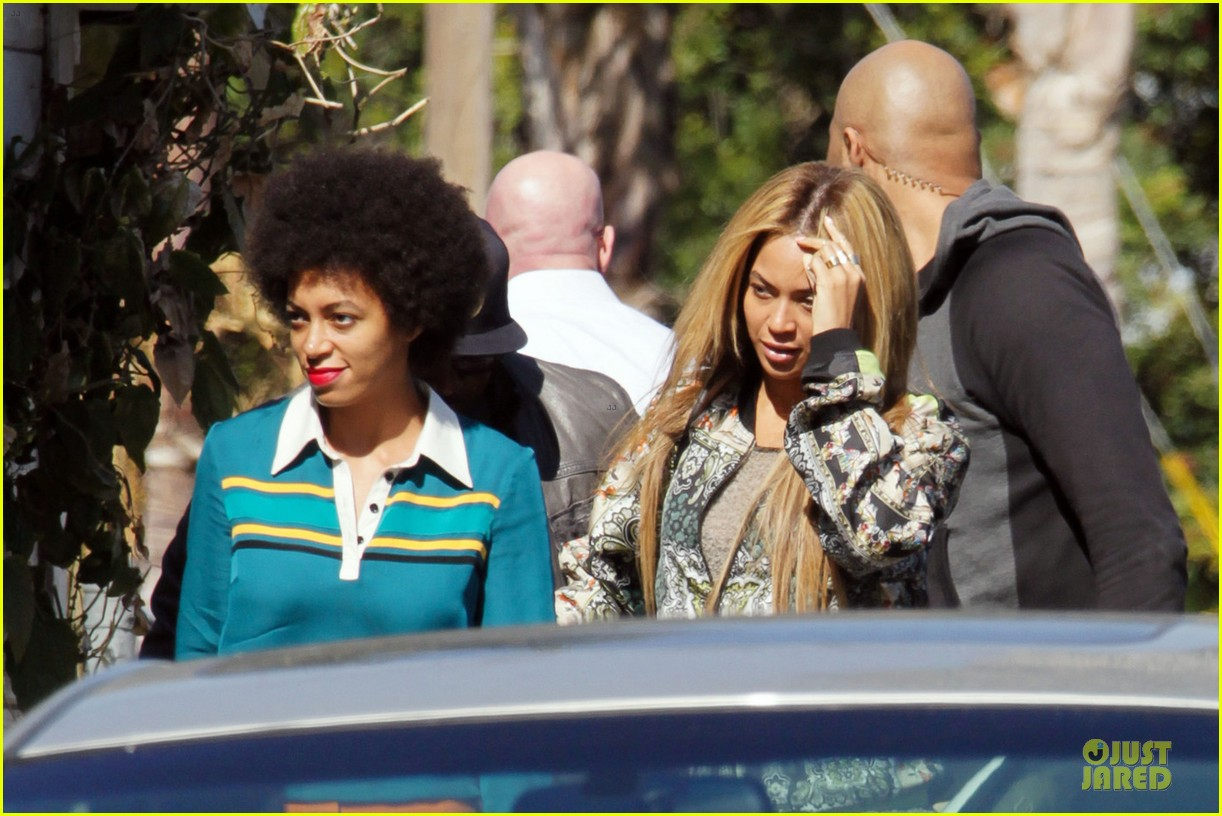 beyonce jay z gjelina lunch with solange 052810433
