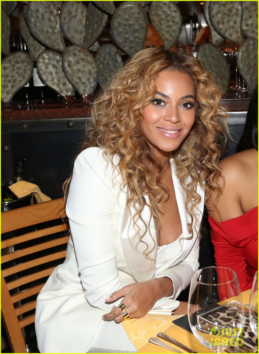 beyonce jay z sprite 2 kings dinner on premiere night 01