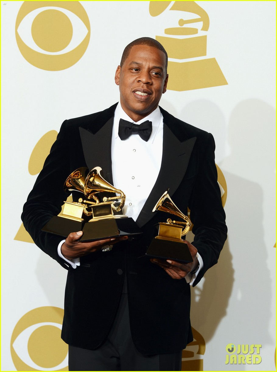 beyonce jay z grammys 2013 winners room photos 042809632