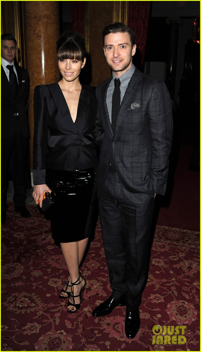 jessica biel justin timberlake tom ford fashion show 012814556
