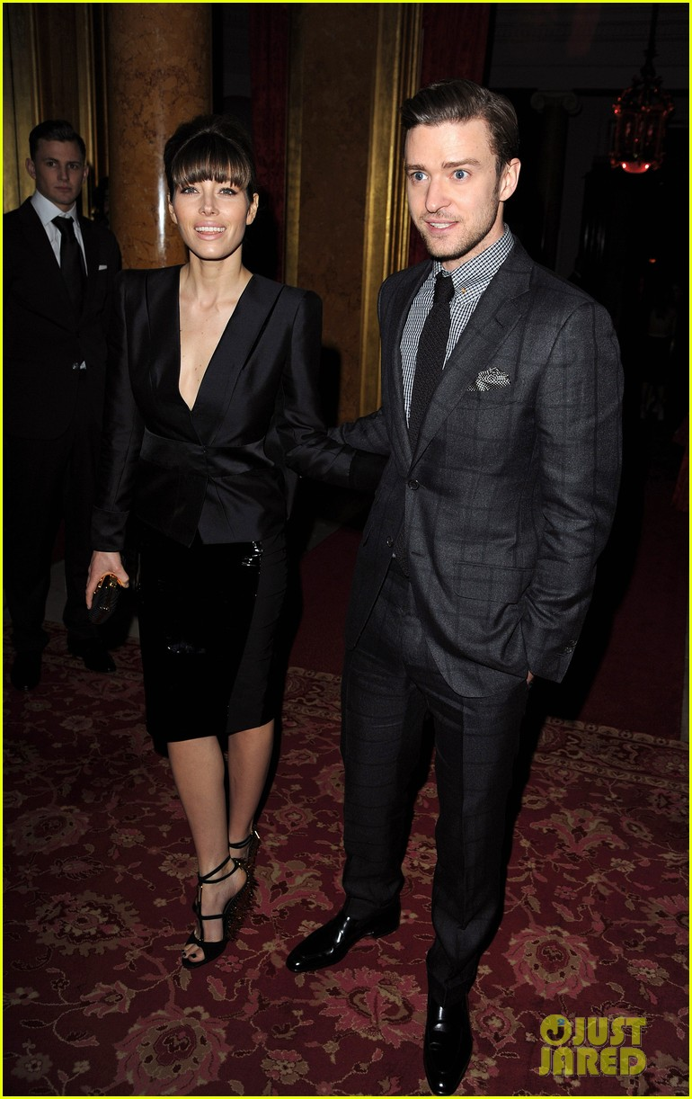 jessica biel justin timberlake tom ford fashion show 022814557