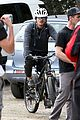orlando bloom safety helmet on atladena bike ride 27