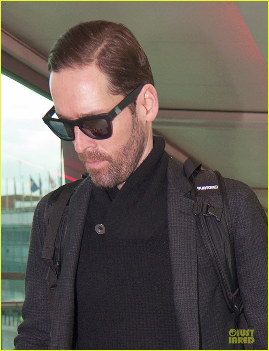 kate bosworth michael polish london fashion week arrival 042813579