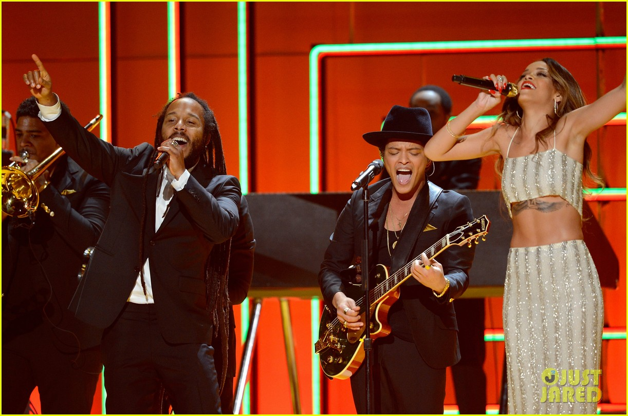 bruno mars sting grammys 2013 performance watch now 022809563