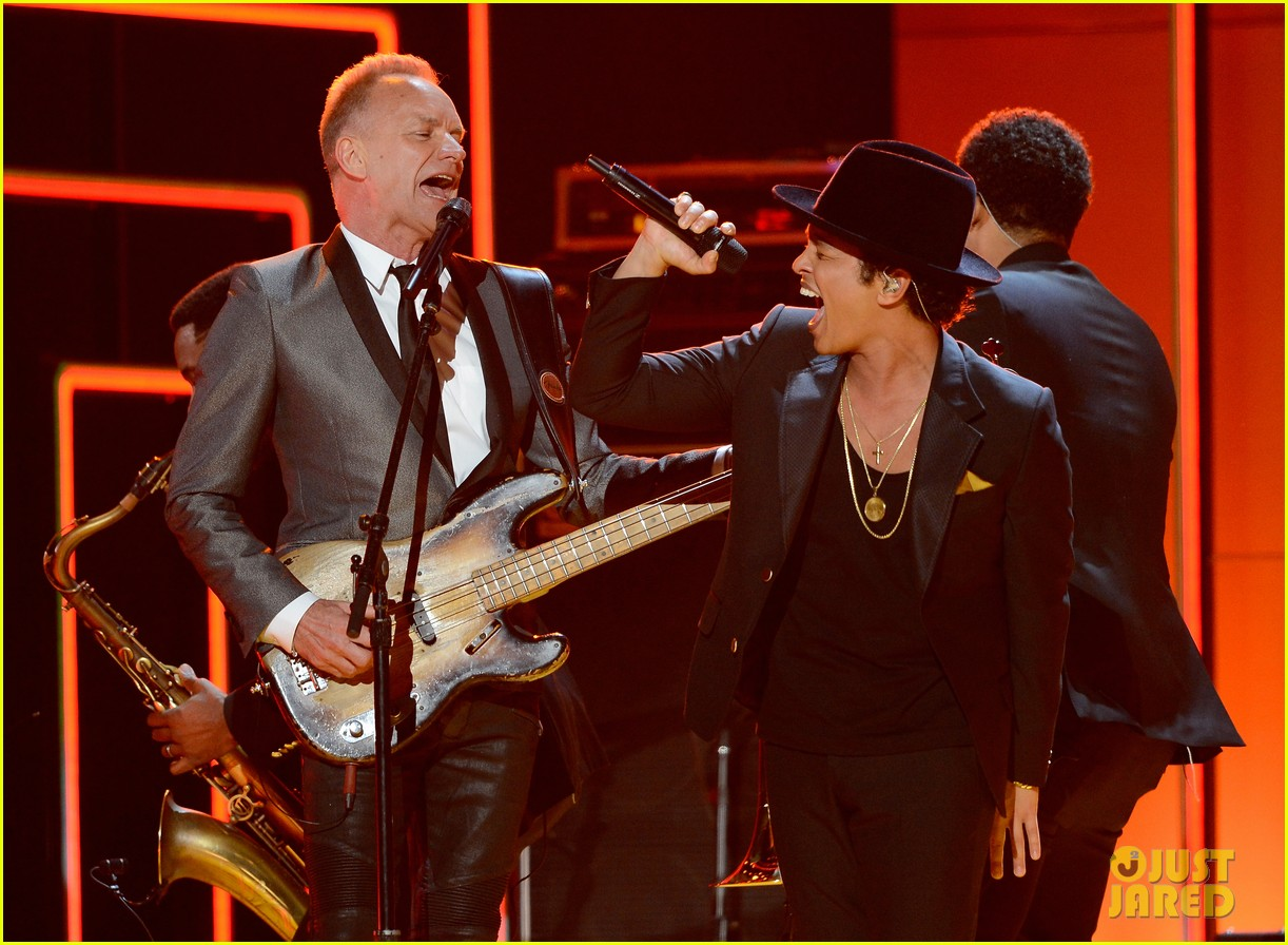 bruno mars sting grammys 2013 performance watch now 042809565