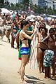 Photo 54 of Calista Flockhart: Bikini Beach Day with Harrison Ford & Liam!