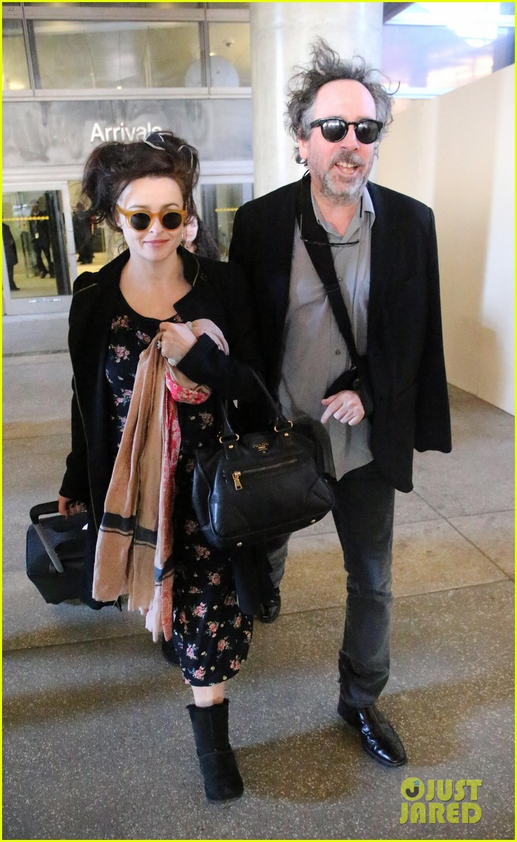 helena bonham carter tim burton arrive for oscars week 062816308