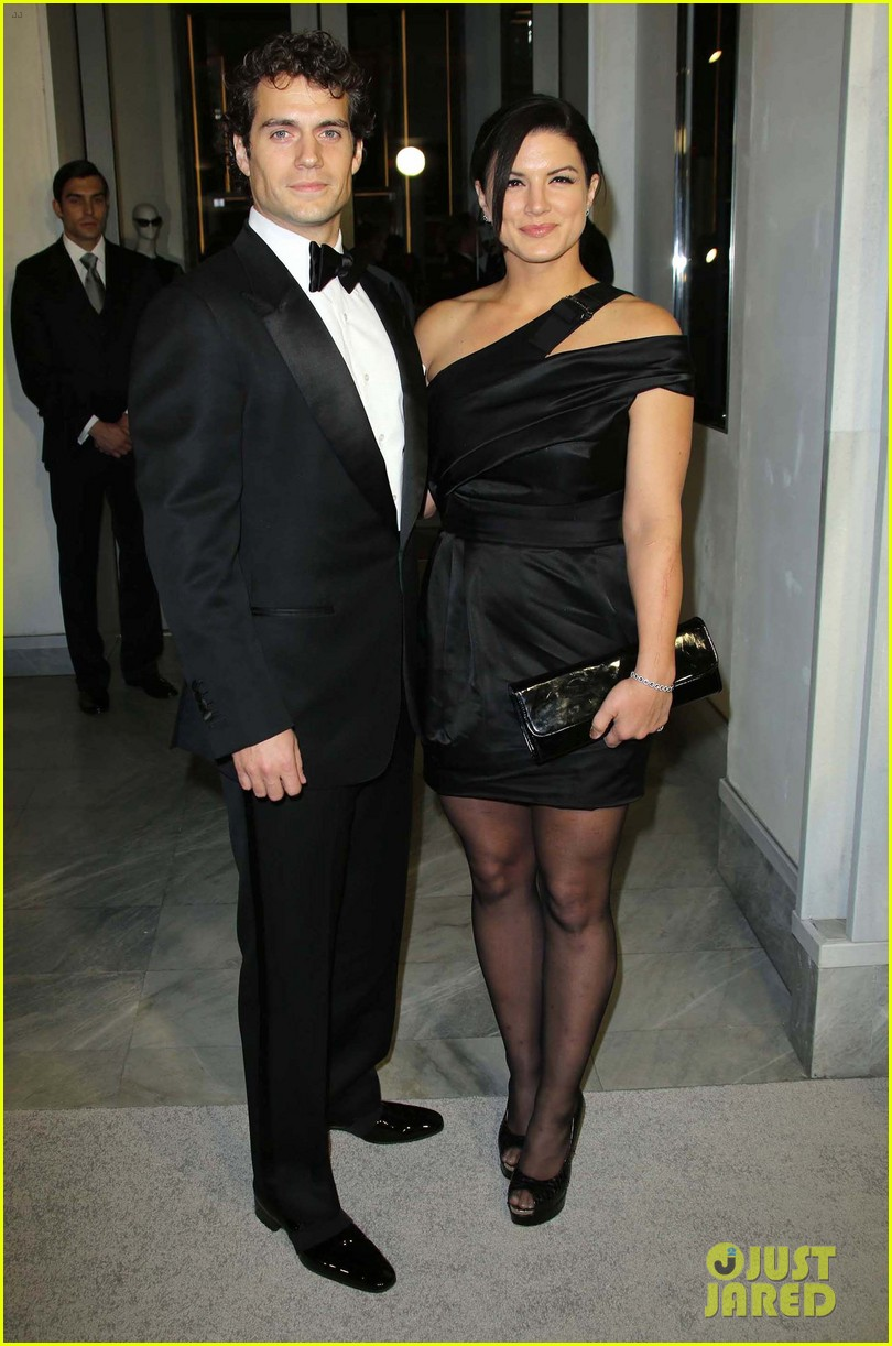 henry cavill gina carano tom ford cocktail party 01