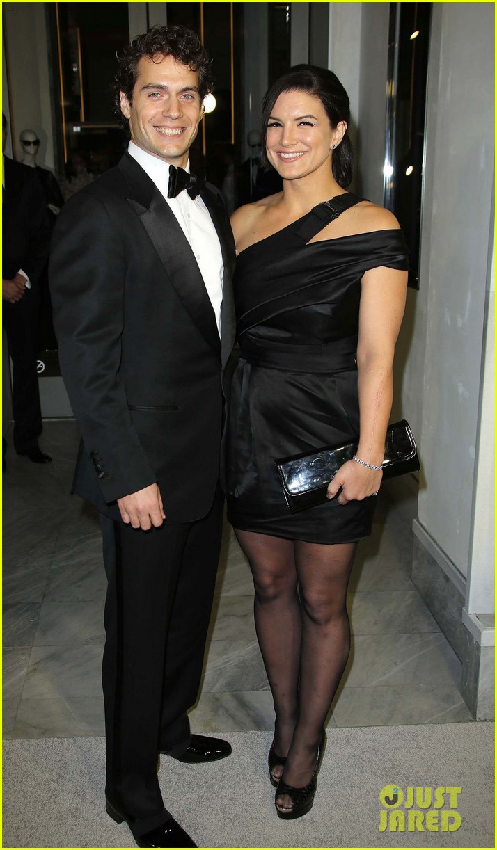 henry cavill gina carano tom ford cocktail party 02