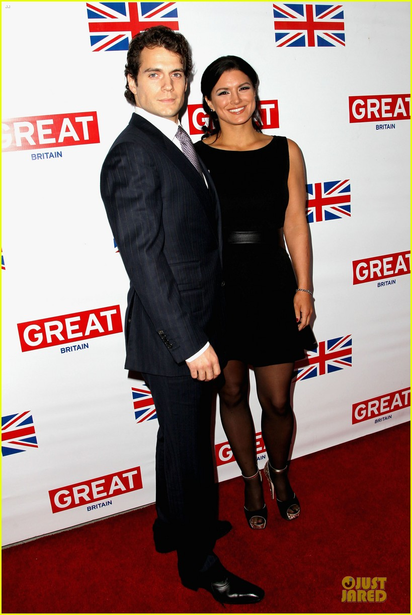 henry cavill gina carano great british film reception 03