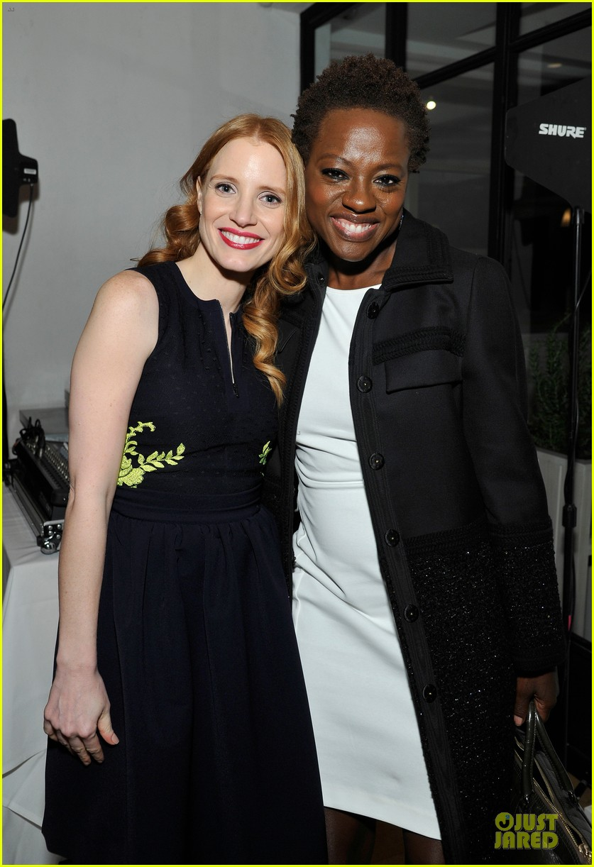 jessica chastain daniel radcliffe women in film pre oscar cocktail party 252817511