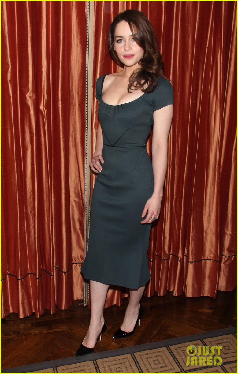 emilia clarke breakfast at tiffanys broadway press preview 052821838