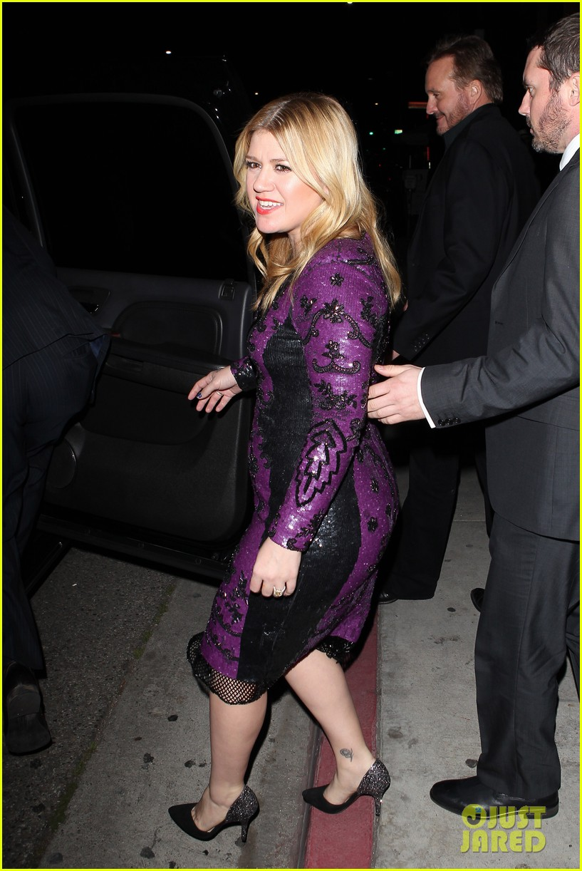 kelly clarkson adele sony music grammy after party 05