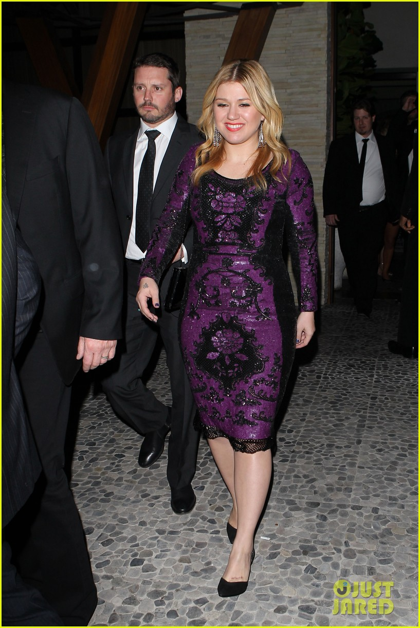 kelly clarkson adele sony music grammy after party 082809905
