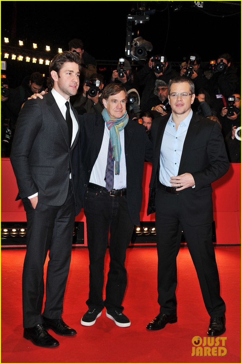 matt damon john krasinski promised land in berlin 01