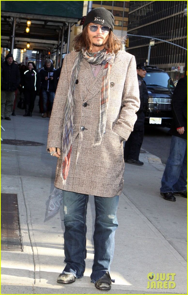 johnny depp letterman appearance as musical guest 05