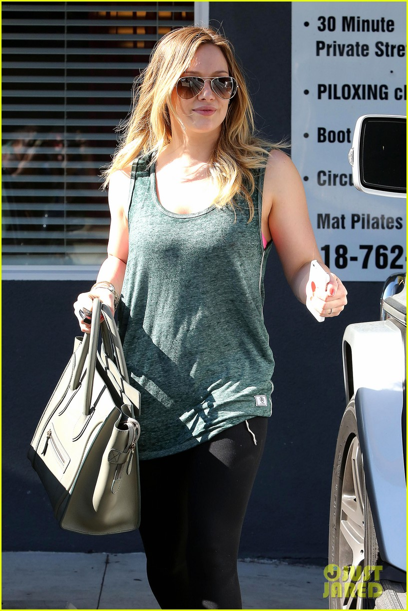 hilary duff post pilates pretty 02