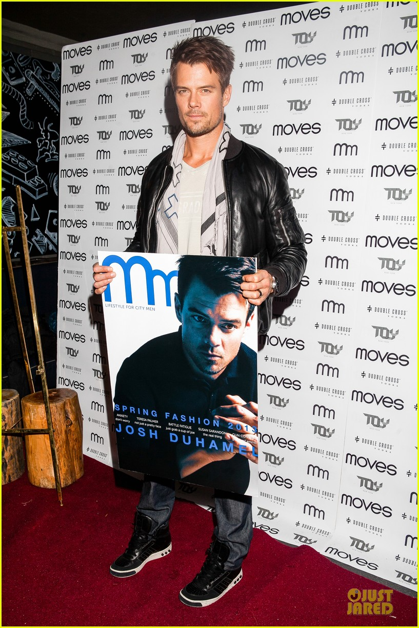 josh duhamel moves magazine cover party 01
