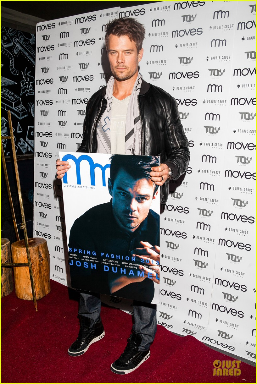josh duhamel moves magazine cover party 032821602