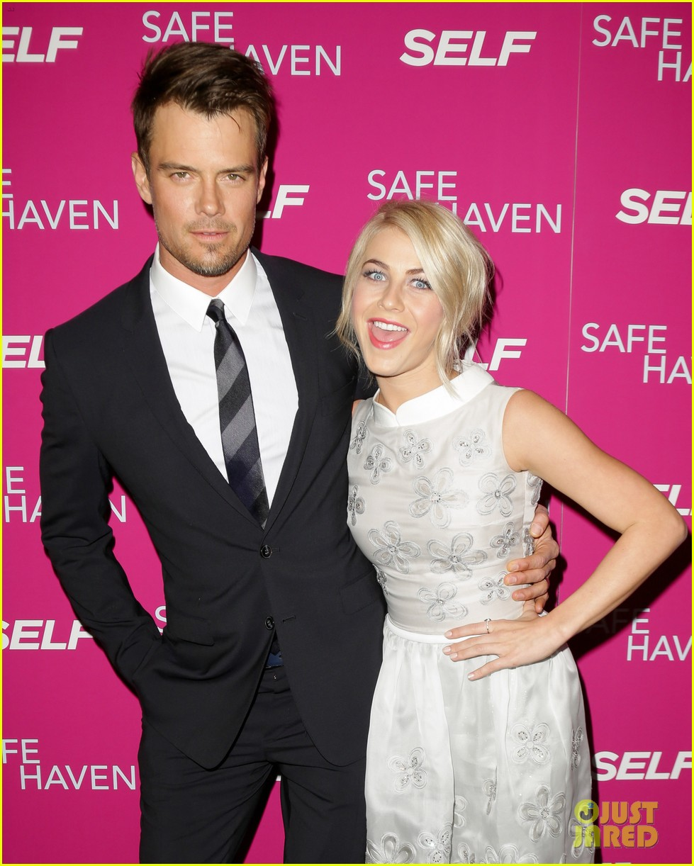 josh duhamel julianne hough safe haven ny premiere 232810358