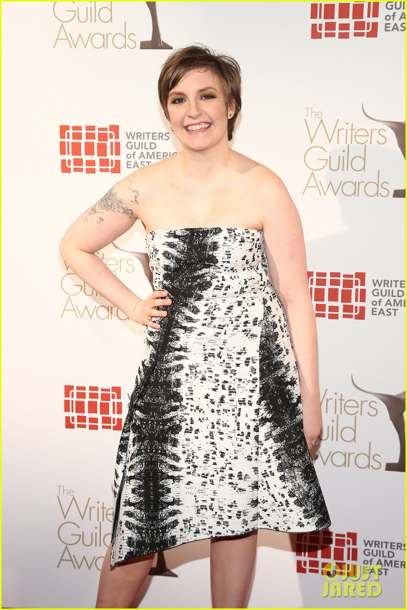 lena dunham writers guild east coast awards 06
