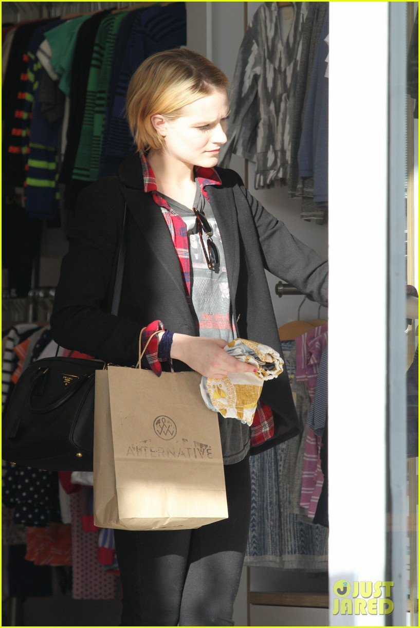 evan rachel wood jamie bell baby shopping 28